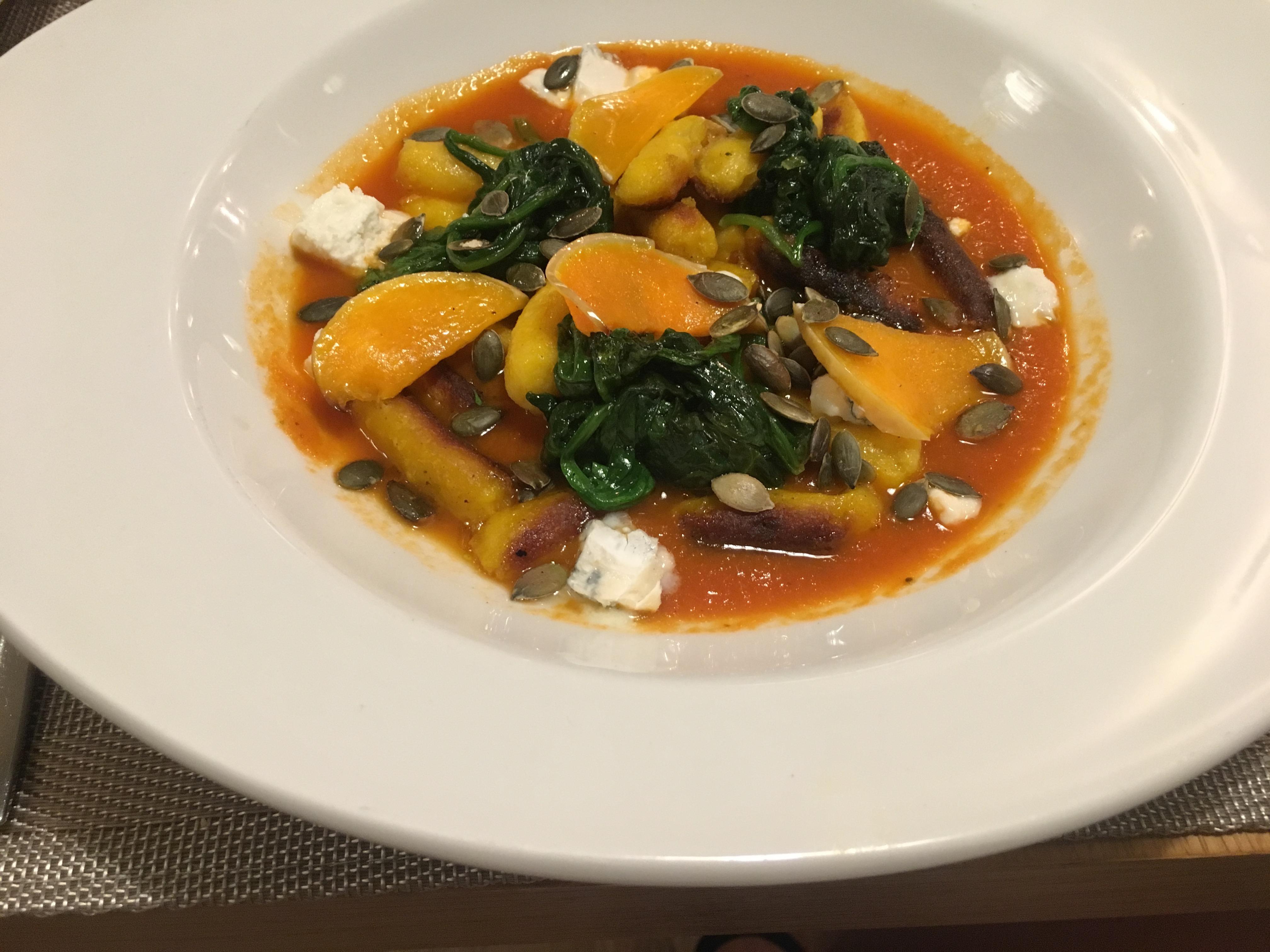 Open Brasserie Pumpkin Gnocchi