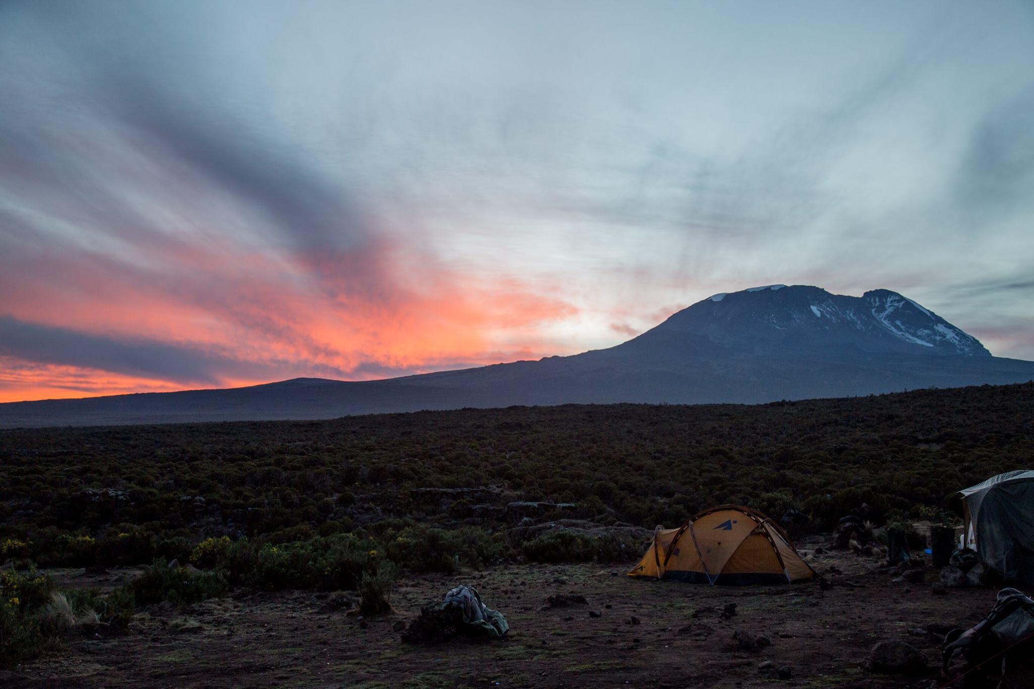 Base Camp Machame Route