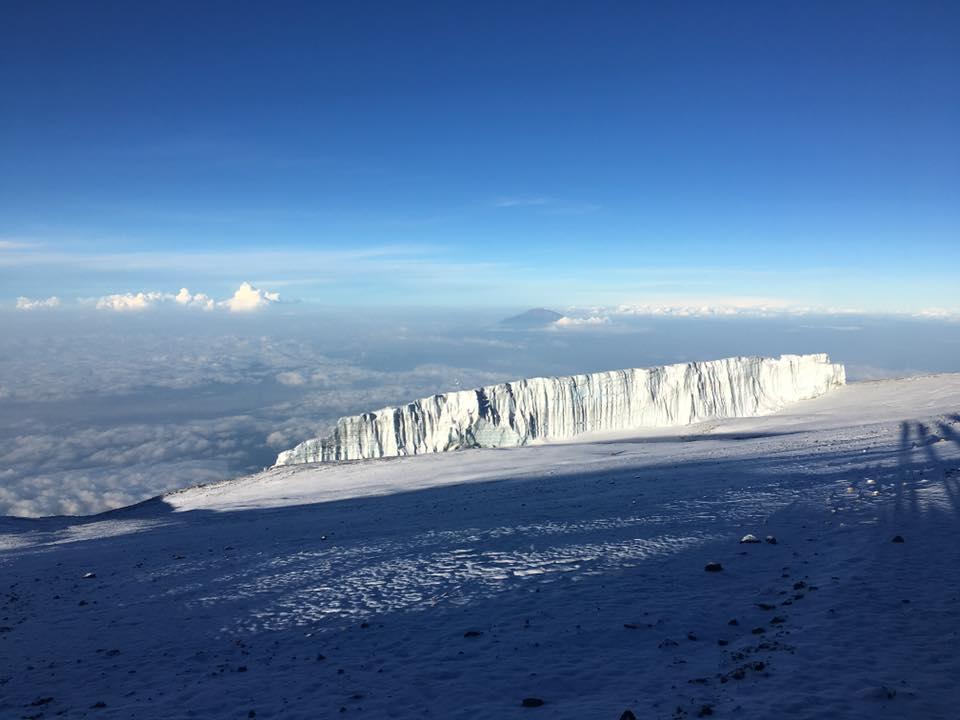 Glaciers Kilimanjaro