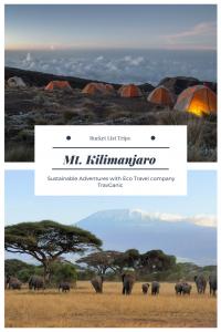 Kilimanjaro bucket lit