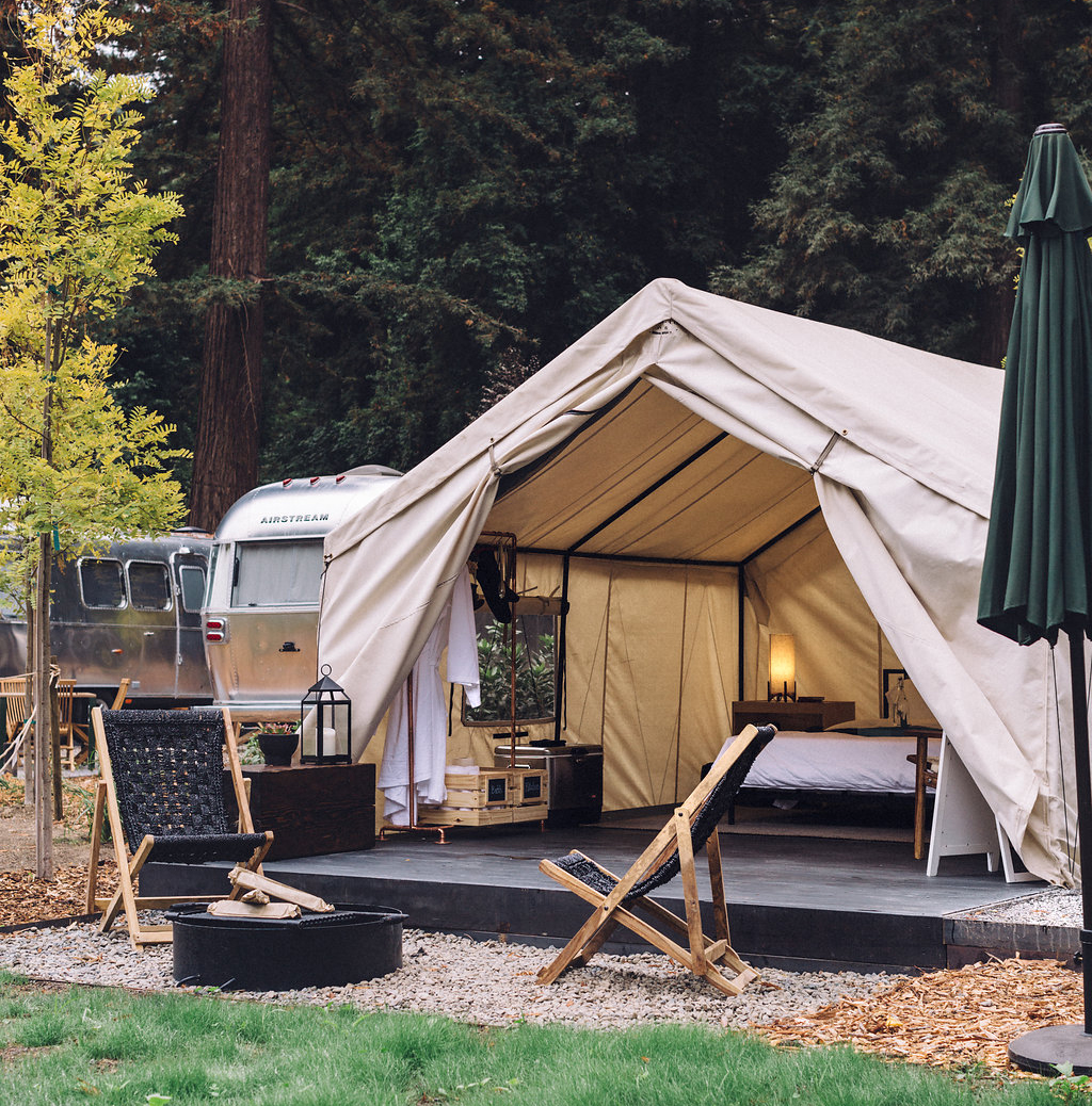Luxury Tented Accommodations