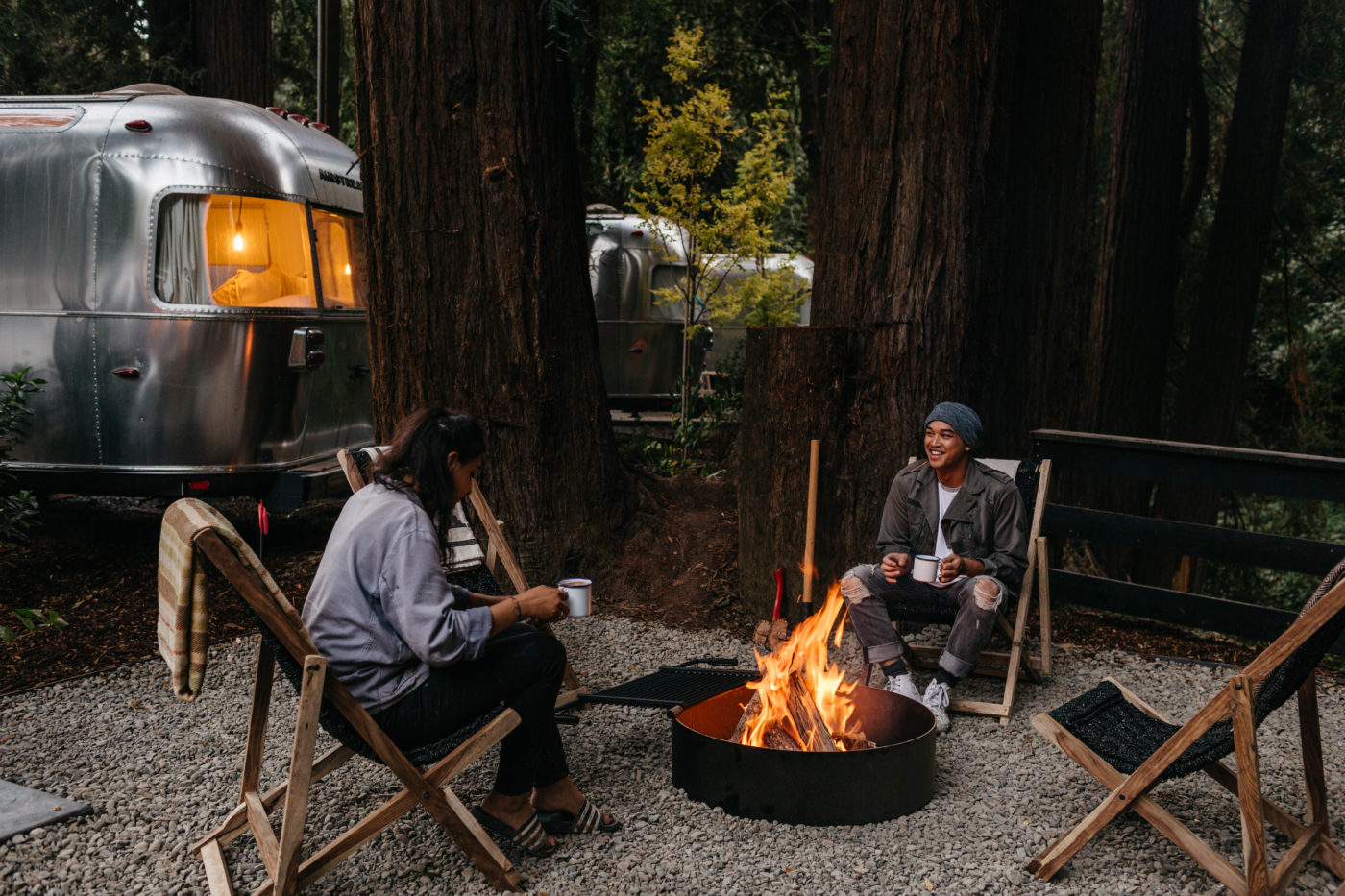 Fireside at Autocamp