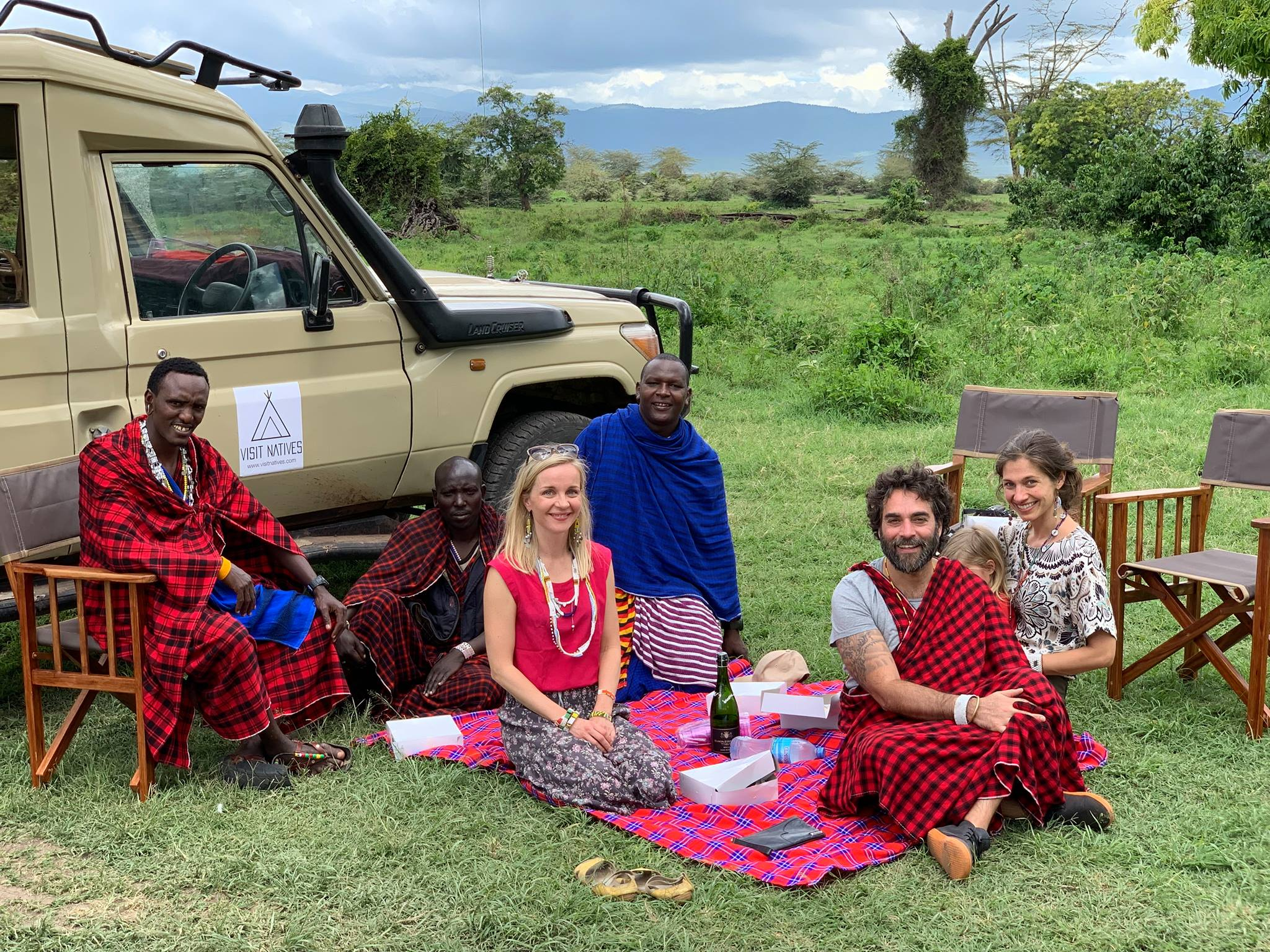 Picnic Lunch with Maasai