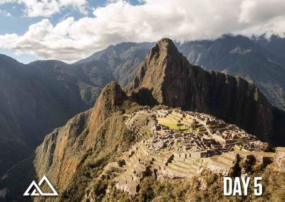The Inca Trail to Machu Picchu (5D/4N)